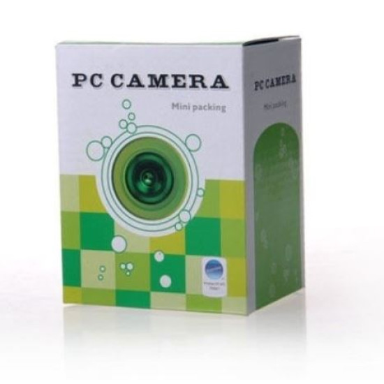 PC WEB CAMERA USB 2.0 WITH MICROPHONE