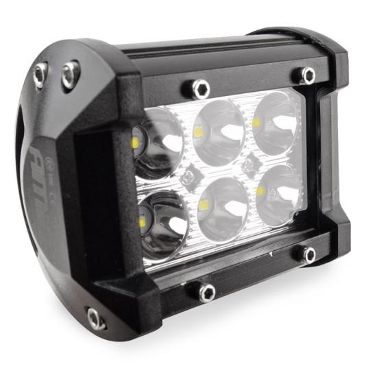 AMIO LED προβολέας οχημάτων AWL17, IP67, 9-36V, 18W, 95x77mm, μαύρος