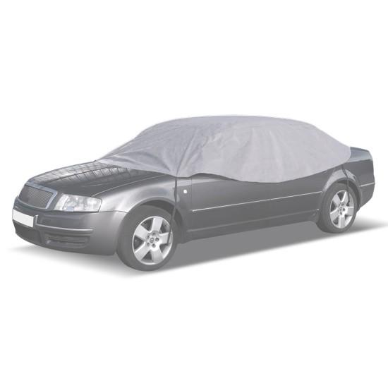 CARPASSION κουκούλα αυτοκινήτου CP58137, 265x125x68cm, γκρι
