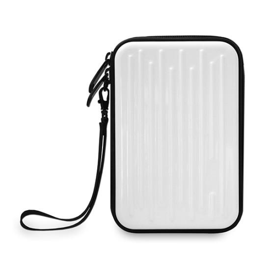 MediaRange Hard Disk Drive Wallet for External 2.5 Drives, White (MRBOX996)