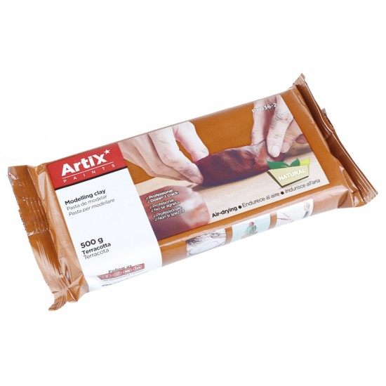 ARTIX PAINTS φυσικός πηλός PY036-2, χωρίς γλουτένη, 500γρ, καφέ